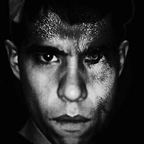 Monochrome Just For Fun Time To Play  B&W Portrait Morphart The Human Condition Monster Inside Me Show Me Your Dark Side Monochrome_Monday Somethingdifferent Hidden Faces Hidden Within Hiding In The Dark What You Dont See With Your Bare Eyes Beastmodeactivated See What I See What Dosent Kill You Makes Your Stronger A Part Of Me Wolfman Faces Of War Human Vs Nature Beaggressive Angerissues Be Not Afraid No Fear