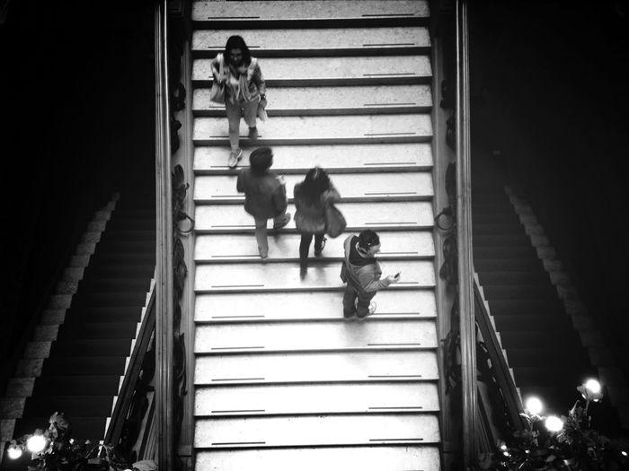 Architecture Blackandwhite Black And White Stairs