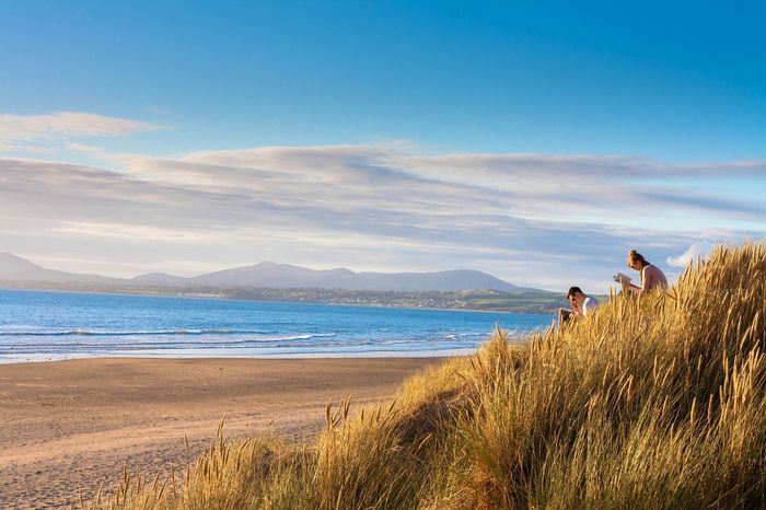 Love Without Boundaries Seaside Wales Cymru Harlech Castle Harlech Harlech Beach West Wales Couples Couples Reading