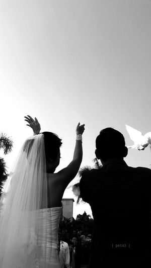 Wedding Blackandwhite Love