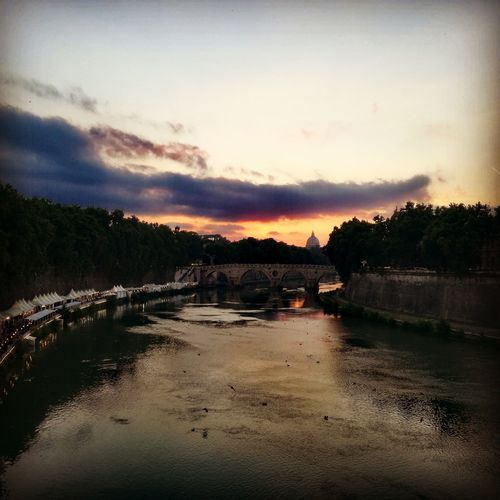 Rome Italy Cityscape Cloud - Sky No People Sky Reflection Beauty In Nature Scenics Tranquility Sunset
