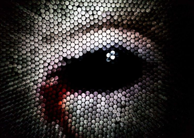 Eye Portraits Abstraction Abstractart Strawcamera Strawphotography Experimenting Black Gray Straw Modern Pattern Backgrounds Close-up Architecture Textured  Abstract Backgrounds Abstract The Creative - 2018 EyeEm Awards