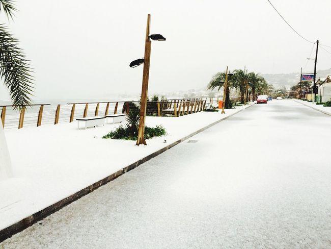 Snow Taking Photos Hello World