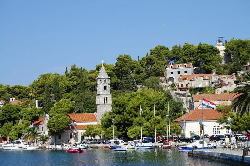 Cavtat Town Cavtat  Croatia Boat Ship Town Village