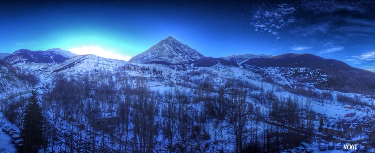 Mountains Desdemiventana Cerler Pirineo Somosfelices Snow