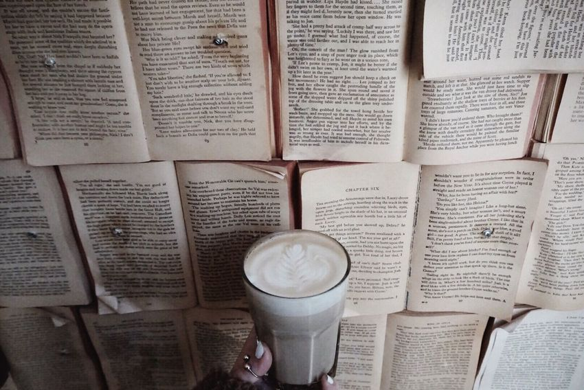 Book Drink Indoors  Food And Drink Coffee - Drink One Person Alcohol Frothy Drink Day Close-up People Toronto Torontophotographer