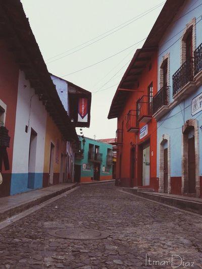 Pueblomagico Calles Empedrado Clima Frio