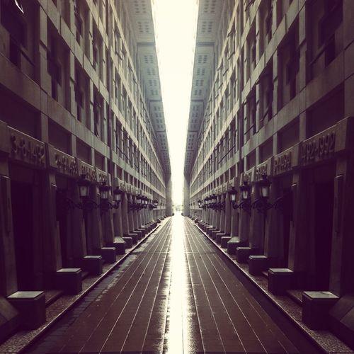 Path Between Tombs