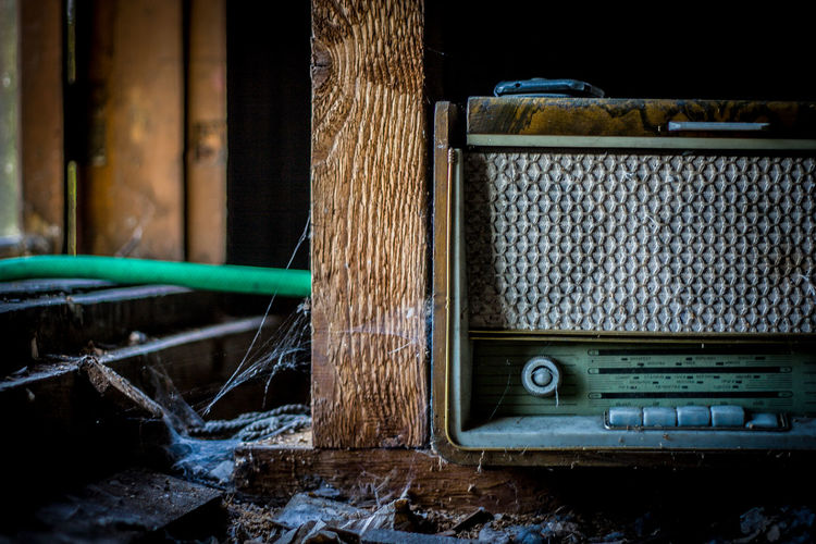 Old radio Minsk. Radio Vintage Inspiration Attic
