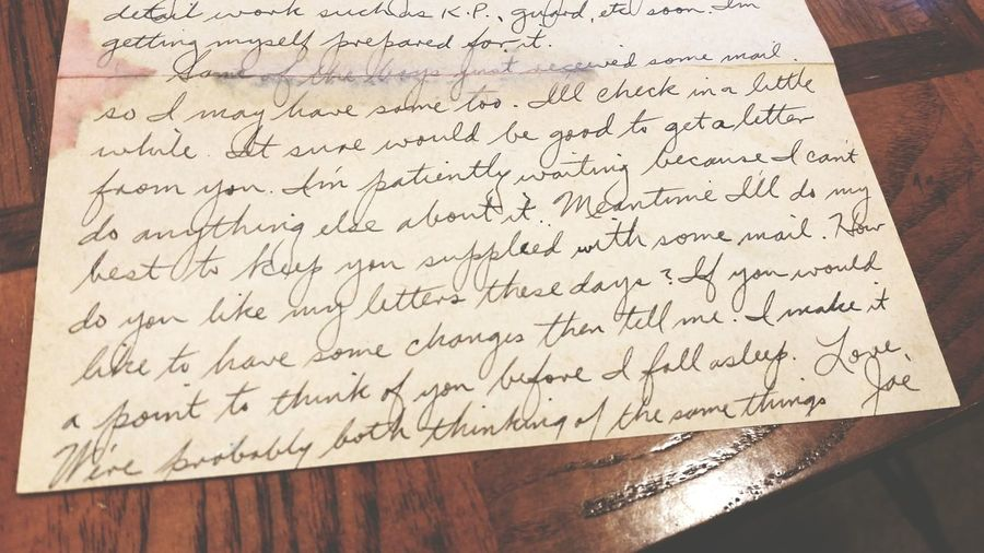"""Were probably both thinking of the same things."" Love Letters Old Love Letters Soldiers Love Letters Soldiers Letters Letters Home Letters To My Love Grandparents Letters Grandparents Love Old Letters Vintage Antique History Family History"