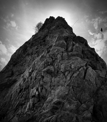 Low Angle View Rock - Object Mountain Outdoors Nature Beauty In Nature Scenics Blckandwhite Black & White B&w Black And White Photography Black And White Blackandwhite