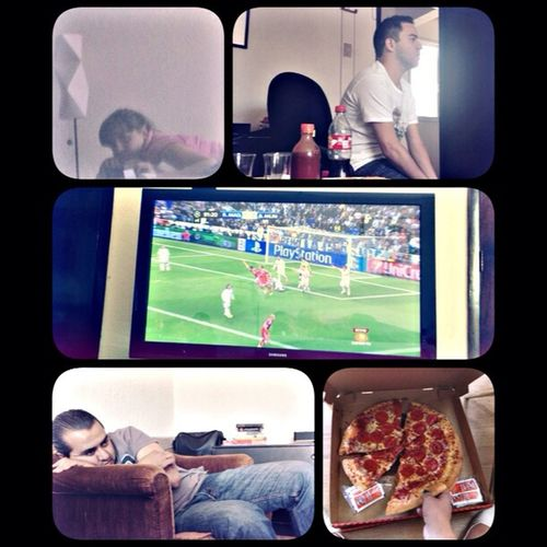 Pizza! Fut ⚽⚽⚽ Hala Madrid Friends ⚽️???