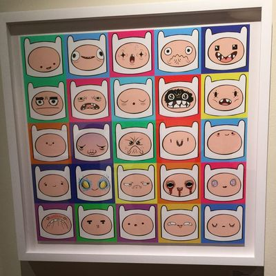 More Adventure Time artwork. So cool! Love this show. Fantastic Exhibition ArtWork Adventure Time Finnthehuman