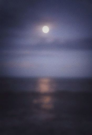This evening - one more day til full Moon EyeEmBestEdits Ocean Night
