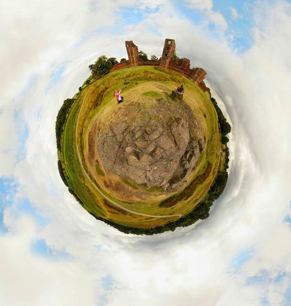 Bradgate Park Day Outdoors Green Color Nature Field Grass Little World 360°