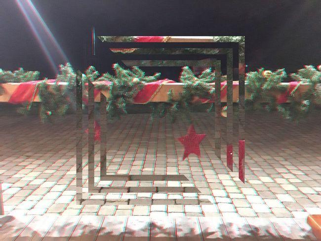 Fragmentapp Christmas Decorations Rays Waiting Taking Photos