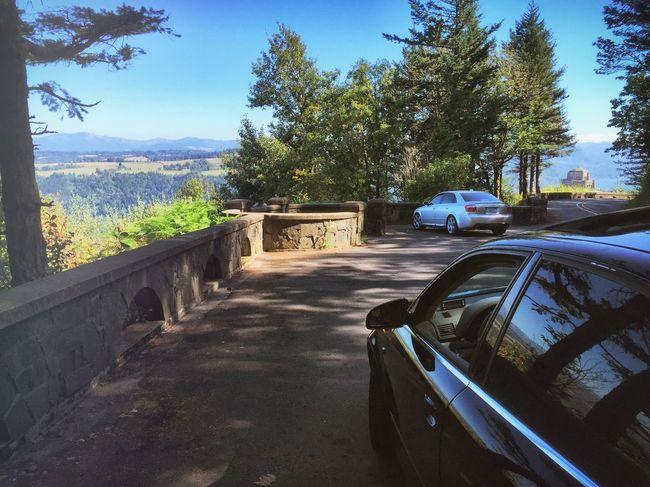 Oregon back roads with the Audi group IPhone Scenics Audi