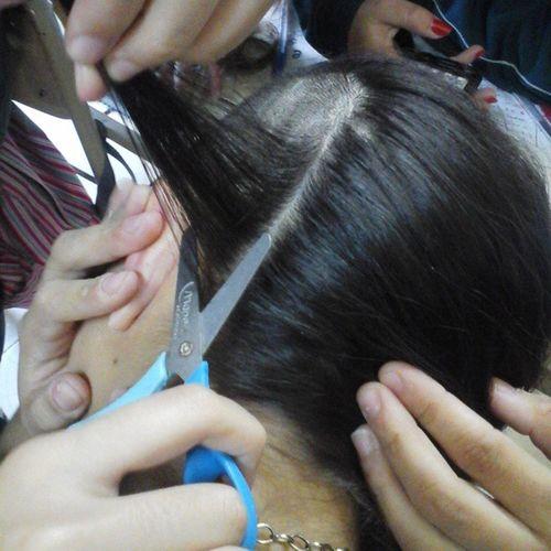 altas peluqueras 💇 RapamosALara Curso Tijera . Jajajajajajaj