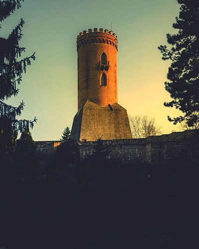 Dracula's Tower Watch Tower Vampire Vlad Țepeș (Dracula) Ruins EyeEmNewHere EyeEm Best Shots Sunset_captures Simplicity Historical Building Warm Light Minimalist Photography  Sunset_collection Sunset Light And Shadow Dracula Legend Mythology Tower Sky Built Structure Architecture Tree Building Exterior Plant Tower The Past Building Low Angle View Sunset History