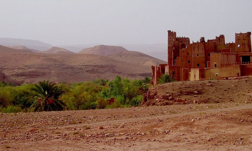 Showcase April Kasbah > a Castle on Moroccan The Adventure Marocco Begins Nature Photography Nordafrika Road Of Castles Naturephotography Color Photography