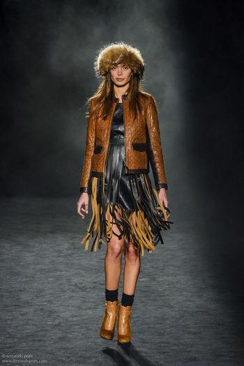 Fashion Models Catwalk Clothes