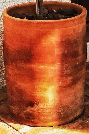 Terracotta Pot Earthy Oranges Warm Colours Spain