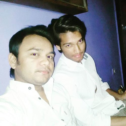 My bro :) Selfie Withbrother Cool V