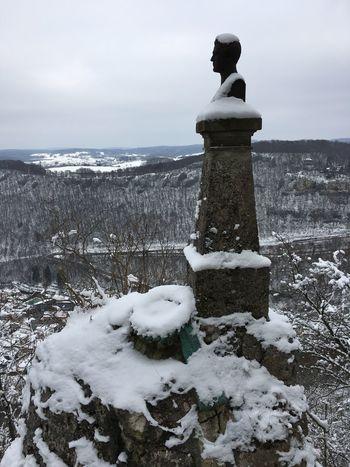 Human Representation Statue Winter Nature Cold Temperature Sculpture Day Snow Beauty In Nature