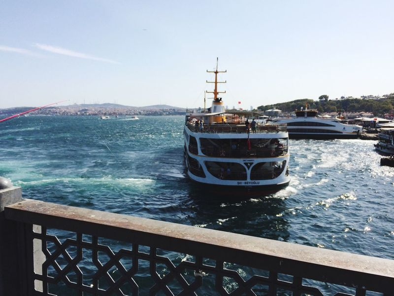 Traveling Turkey Istanbul Istanbul Turkey Gold Corn Corno D'Oro Bosfor European Turkey Bridge Galata Bridge Nautical Vessel Ferry Ferryboat Wind Fisherman View Me Around The World Eye4photography