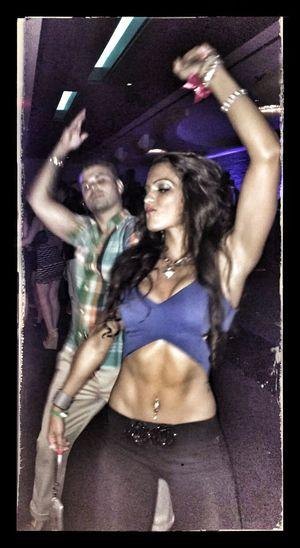 Husbandandwife Intheclub Dancingpartner