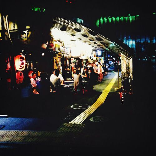 I followed the White Rabbit / Yurakucho Izakaya 愉楽町 Psychedelic