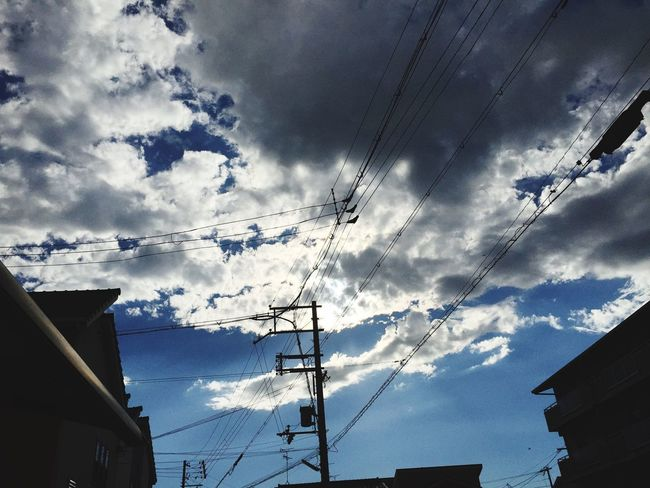 Today's sky Sky Nature