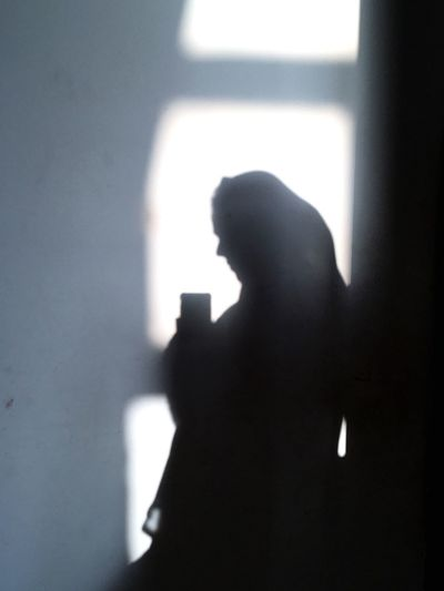 Shadow Shadow Indoors  Silhouette One Person Real People Window Sunlight Close-up Standing Day Side View Lifestyles People