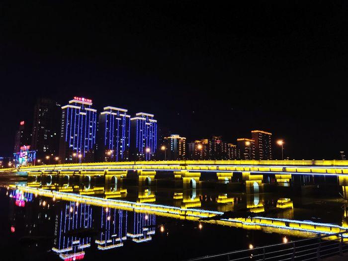 Built Structure Night Architecture Building Exterior Illuminated City Sky