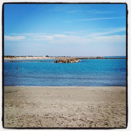 La plage de Saintes Maries de la Mer Carmargue SaintesMariesdelaMer Sud France southoffrance cotedazur