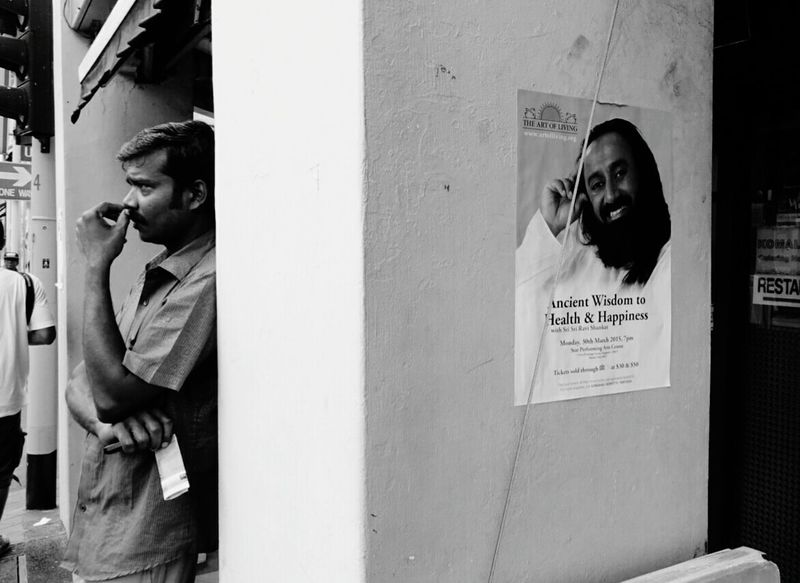 Juxtaposition Streetphotography Blackandwhite Candid Asian Culture Monochrome Streetphoto_bw