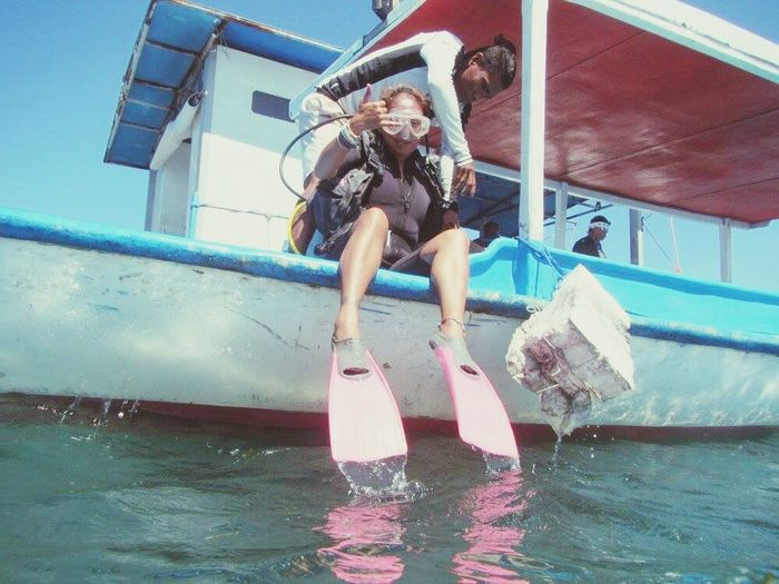 From snorkeling and wake boarding in Maldives to scuba diving in Bali, Indonesia Feel The Journey Globetrotter Backpacker Globetrekker Scuba Diving Sealover  Newplaces Discover  Explore Vacation Pinaytraveller Tourist Watersport Happiness Funtimes