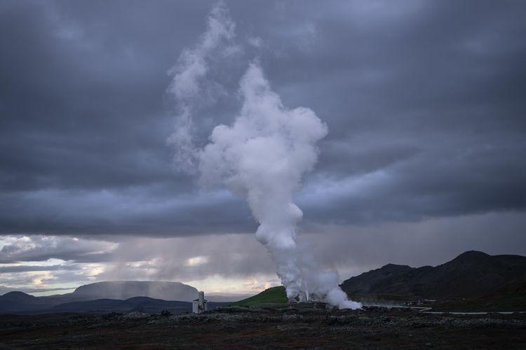 Cloud - Sky Clouds Horizontal Iceland Nature No People Outdoors Sky Storm Cloud Travel Destinations