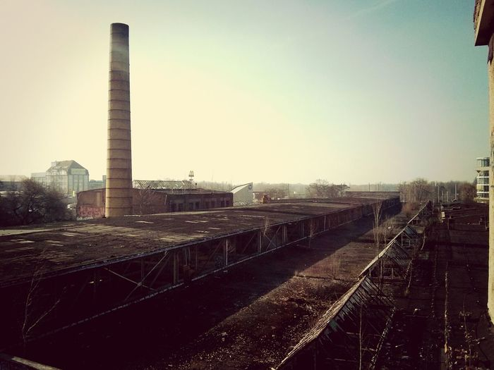 on top <3 Beauty Of Decay The Explorer - 2014 EyeEm Awards Abandoned Roof Top
