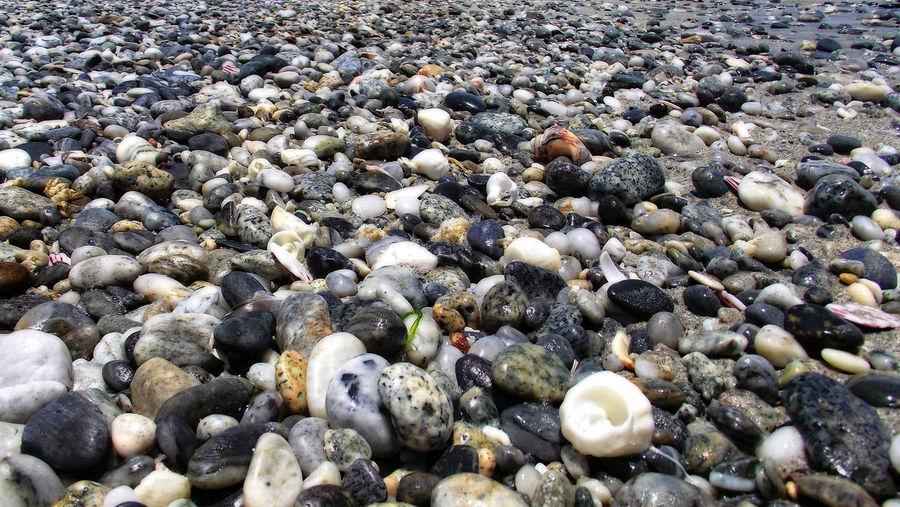 Stones on rocks