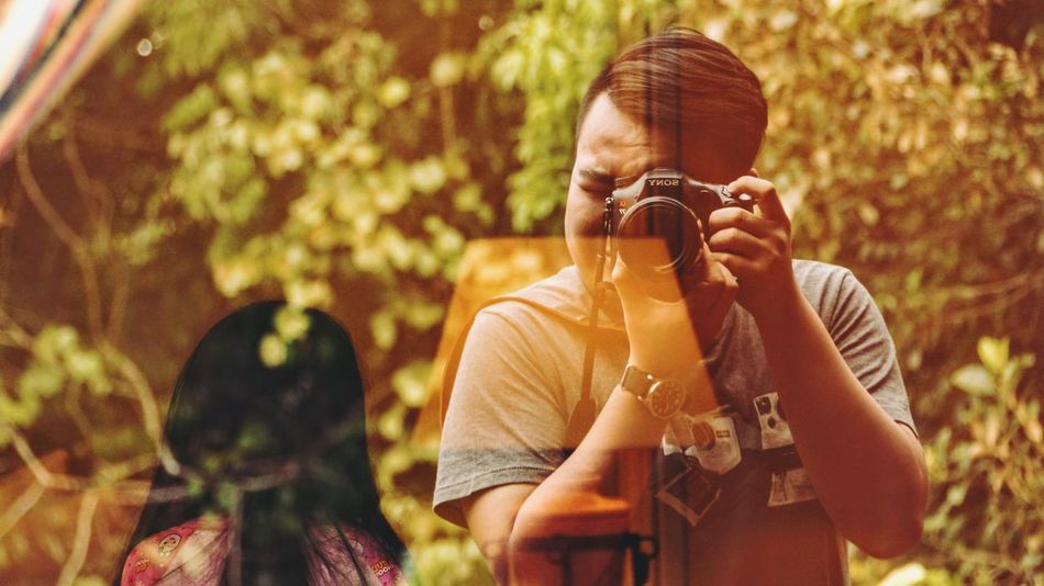 43 Golden Moments Borneo Casual Clothing Day DSLR Enjoyment People And Places Glass Reflection Kinabalu National Park Kundasang Leisure Activity Lifestyles Long Hair Malaysia Me Nature Outdoors Ranau Reflection Reflections Sabah Taman Negara Kinabalu That's Me The OO Mission Travel