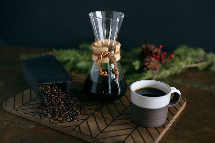 Coffee Coffee Time Coffee Beans Pour Over Coffee Taste Caffine Holiday Christmastime Pine