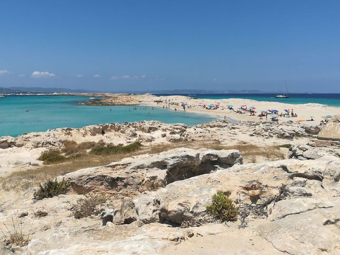 Formentera Water Swimming Sea Beach Wave Sea Life Sand Blue Summer Pastel Colored 10 The Photojournalist - 2018 EyeEm Awards The Great Outdoors - 2018 EyeEm Awards The Traveler - 2018 EyeEm Awards EyeEmNewHere Summer Sports My Best Travel Photo