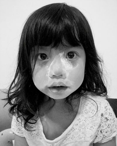 Daughterlove Daughterdearest Home Sweet Home Messy Face Blackandwhite Photography Bw