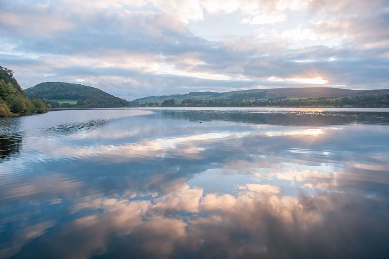 Lake District Ullswater Beauty In Nature Cloud - Sky Day Idyllic Lake Mountain Nature No People Non-urban Scene Outdoors Reflection Scenics - Nature Sky Sunset Tranquil Scene Tranquility Water Waterfront
