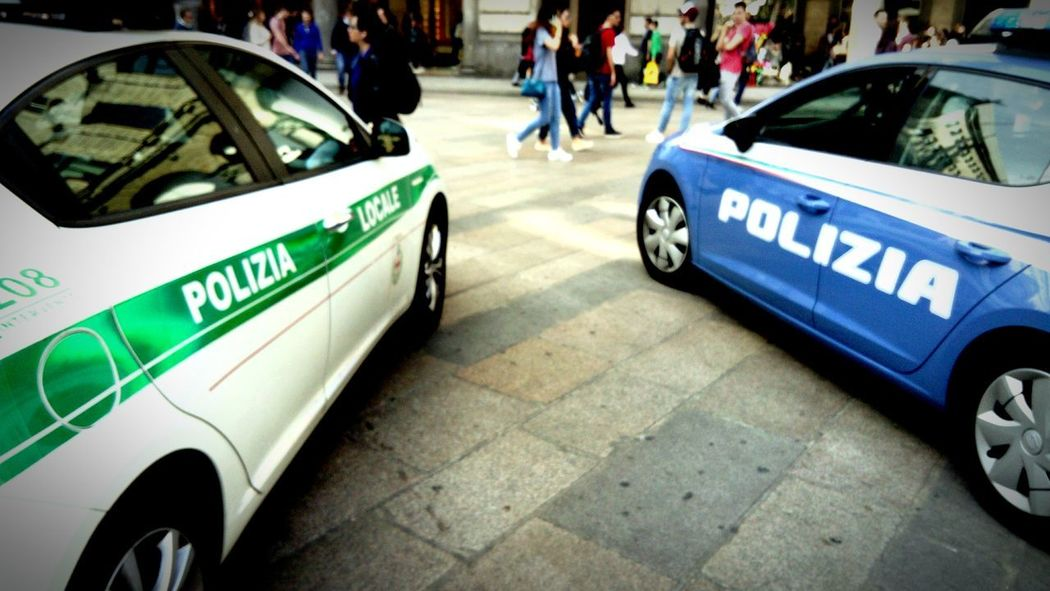 Tourist Attraction  Tourist Tourism Italia Italy Respect Art History Through The Lens  Policia Polizia Police Car Carro Machina