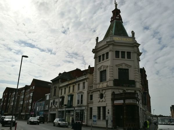 👑 Theater Theatre Arts King's Theatre Architecture History Building Exterior City Outdoors Cloud - Sky Travel Destinations Day Cityscape No People Sky South Of England United Kingdom Portsmouth Hampshire