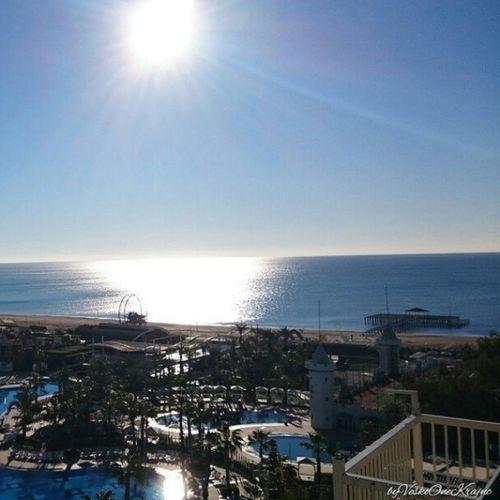 Ausblick vom DelphinDiva , zum Meer von veskoonekrajnc auf Flickr. Follow me now, on Flickr strand beach pool Sea Palmen Folge diesem Link, um dieses Foto anzuzeigen und zu kommentieren: https://flic.kr/p/tR2P63