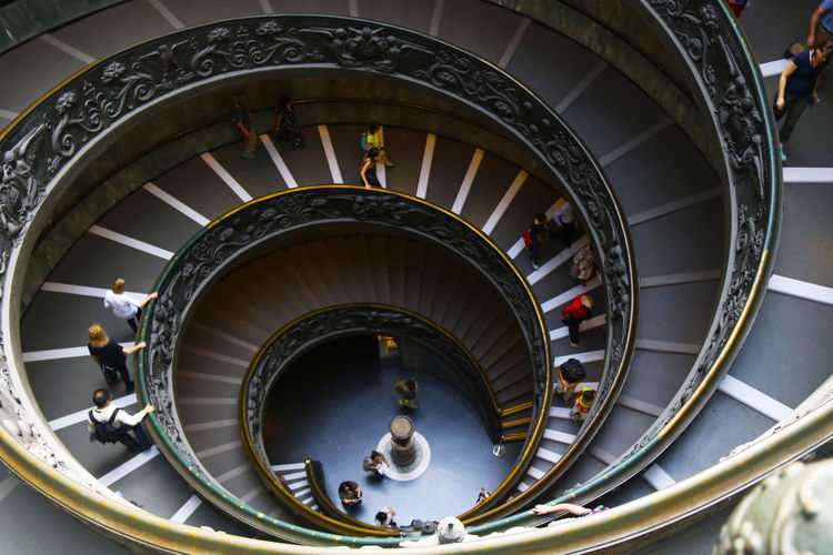 Bramante Bramante Staircase Roma VaticanCity Vaticano Vaticano City Architecture Indoors  Italy Spiral Staircase Steps And Staircases Tourism Travel Vatican Museum