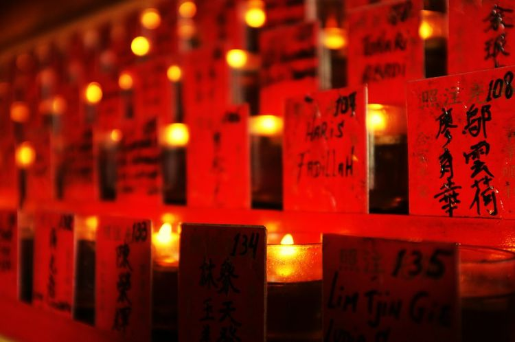 Religion Illuminated Spirituality Candle Indoors  Red Place Of Worship Full Frame Close-up No People Flame Day